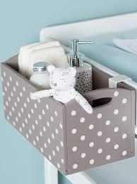 panier rangement chambre bébé mamans 10 idées inspirantes pour la table à langer décoration