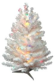 artificial christmas trees multi colored lights artificial white christmas trees suipai me