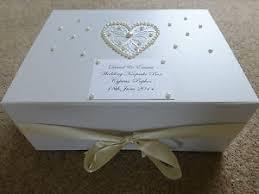 wedding keepsake box large ivory wedding keepsake box personalised memory box ivory