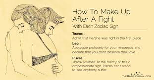 zodiac signs how to make up after a fight with each zodiac sign the minds journal