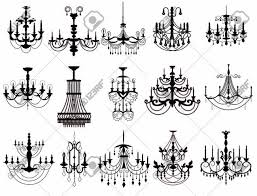 Classic Chandelier Classic Chandelier Set Collection Luxury Decor Accessory Design