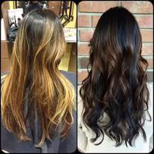 35 visually stimulating ombre hair color brunettes