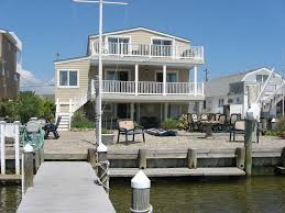 Multifamily Home Picturesque Cove Front Multi Family Home Dock Sunrise And