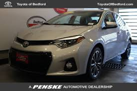 used toyota 2014 used toyota corolla at toyota of bedford serving cleveland