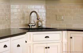 Black Subway Tile Kitchen Backsplash Kitchen Backsplash Design Glass Colored Subway Tile Kitchen