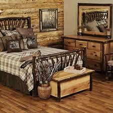 rustic hickory and cottage furniture woodland creek u0027s log