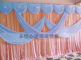 wedding backdrop curtains aliexpress buy luxury 3x6m silk gold wedding backdrops