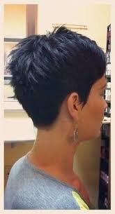 front and back views of chopped hair image result for pixie cuts front and back views pixie