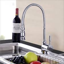 Single Hole Kitchen Faucet With Pull Out Spray by Gooseneck Kitchen Faucet With Pull Out Spray 2017 And Faucets