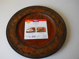 fall charger plates walmart dandelions and dust bunnies