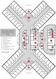 layout of nursing home 1 nursinghomefloorplans nursing home blueprints nice inspiration