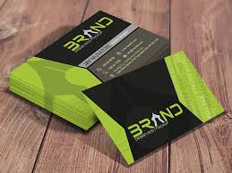 brand design business card