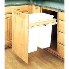 trash cans for kitchen cabinets kitchen trash can cabinet smarton co