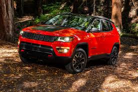 dark red jeep 2017 jeep compass first look review motor trend