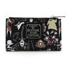 loungefly x the nightmare before character bi fold