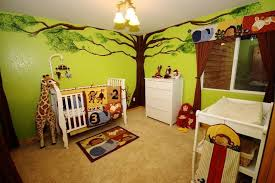 decorating with a modern safari theme baby nursery decor best ideas baby nursery jungle theme green wall