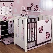 Pink Brown Crib Bedding Beautiful Ladybug Baby Bedding All Modern Home Designs