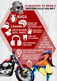 motorcycle wear the only 10 reasons to wear a motorcycle helmet