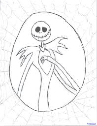 jack skellington head coloring pages many interesting cliparts