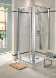 fantastic folding shower doors home ideas collection image of folding shower doors glass