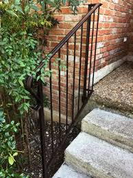 Iron Handrails For Stairs How To Paint Wrought Iron Railings Angie U0027s List