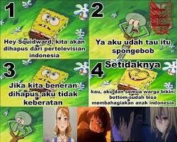 Meme Comic Indonesia Spongebob - pendapat mimin tentang spongebob yang mau dihapus di tv indonesia