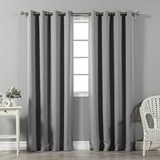 Amazon Thermal Drapes Amazon Com Best Home Fashion Thermal Insulated Blackout Curtains