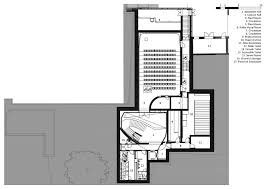 lecture hall floor plan opened oxford university middle east centre building by zaha hadid