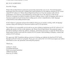 sample grant proposal cover letter grant cover letter grant