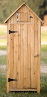 com merax arrow shed with single door wooden garden shed wooden lockers with fir wood natural wood color garden outdoor