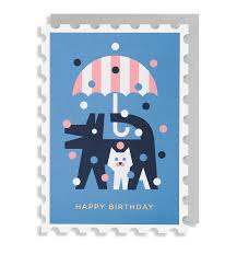 happy birthday cats u0026 dogs greeting card u2013 lagom design