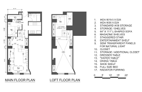 New York Apartments Floor Plans Studio Loft Apartment Floor Plans Home Design Ideas