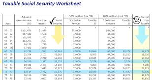 social security taxable income worksheet free worksheets library