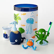 lovely fish bathroom sets kids decor wpxsinfo accessories themed