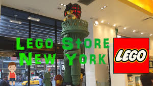 the lego store in new york city