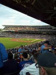 Chicago Cubs Seat Map by Wrigley Field Section 202 Row 22 Seat 101 Chicago Cubs