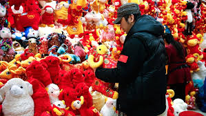 Lunar New Year Home Decorations chinese couples shun year of the sheep babies cnn