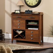 amazon com sauder carson forge sideboard washington cherry