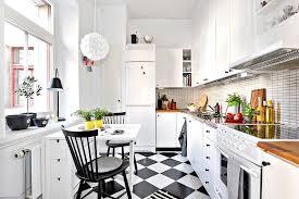 deco cuisine noir et blanc best cuisine carrelage damier noir et blanc photos design trends