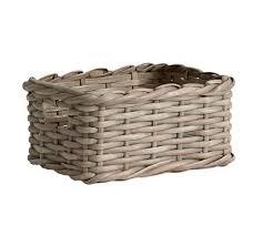 personalized basket decorative personalized basket pottery barn