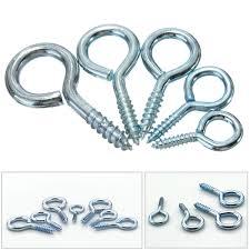 10 pcs heavy duty steel in eye hooks for picture frame