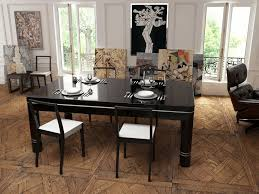 how to build a dining room table dark brown varnished wooden