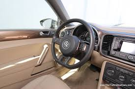review 2013 volkswagen beetle convertible video the truth