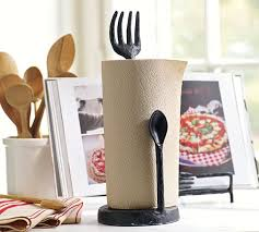 themed paper towel holder cucina paper towel holder pottery barn