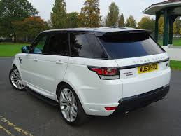 white land rover black rims used fuji white land rover range rover sport for sale essex
