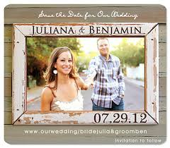 rustic save the date cards rustic country western save the date wedding magnets