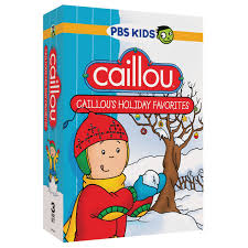 celebrate the holidays with caillou s favorites dvd