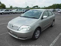 toyota corolla sedan 2003 used 2003 toyota corolla sedan g limited navi special ua nze121