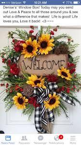 Sunflower Mesh Wreath 38 Best Flowers Images On Pinterest Flower Arrangements Floral