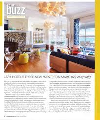 Boston Magazine Design Home 2016 Lark Hotels Press New England Hotel Group Press Coverage